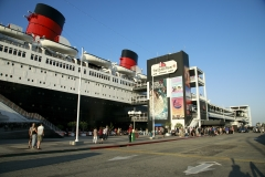 Dinner on the Queen Mary
